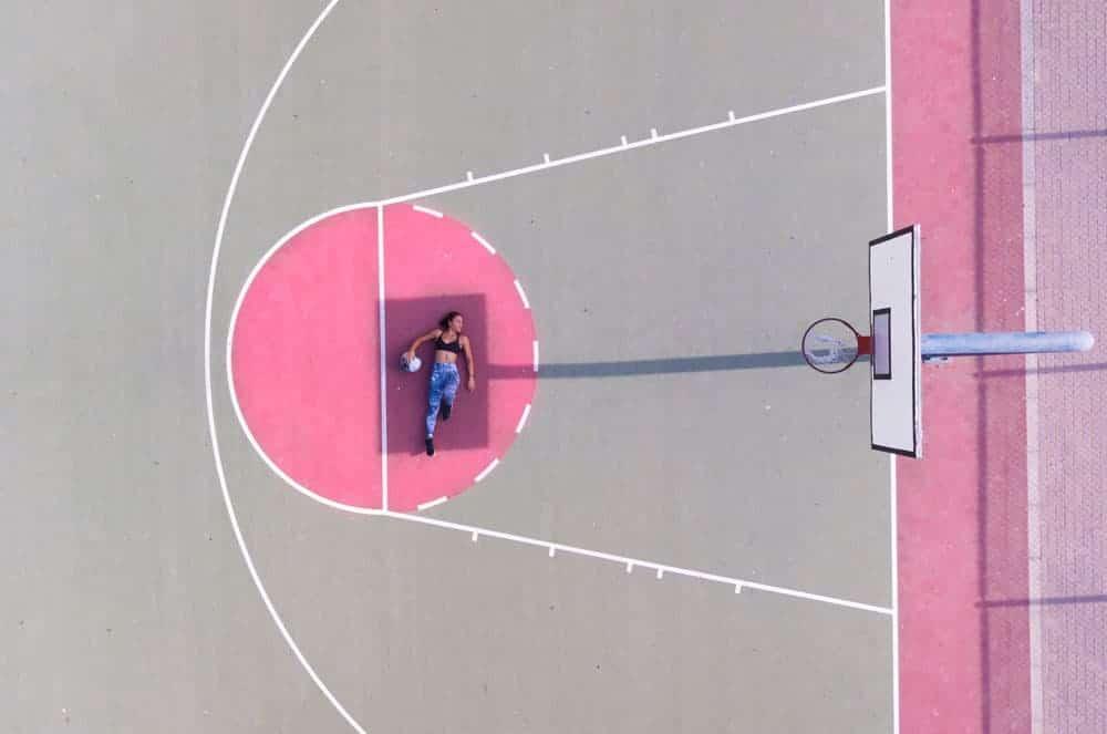 aerial-shot-basketball-court-court-1262352